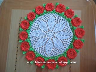 Dinah crochet doily with mini carnation diagram doily with mini carnation diagram ccuart Gallery