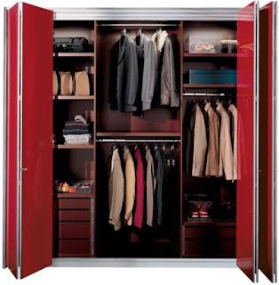 furniture minimalis lemari pakaian modern