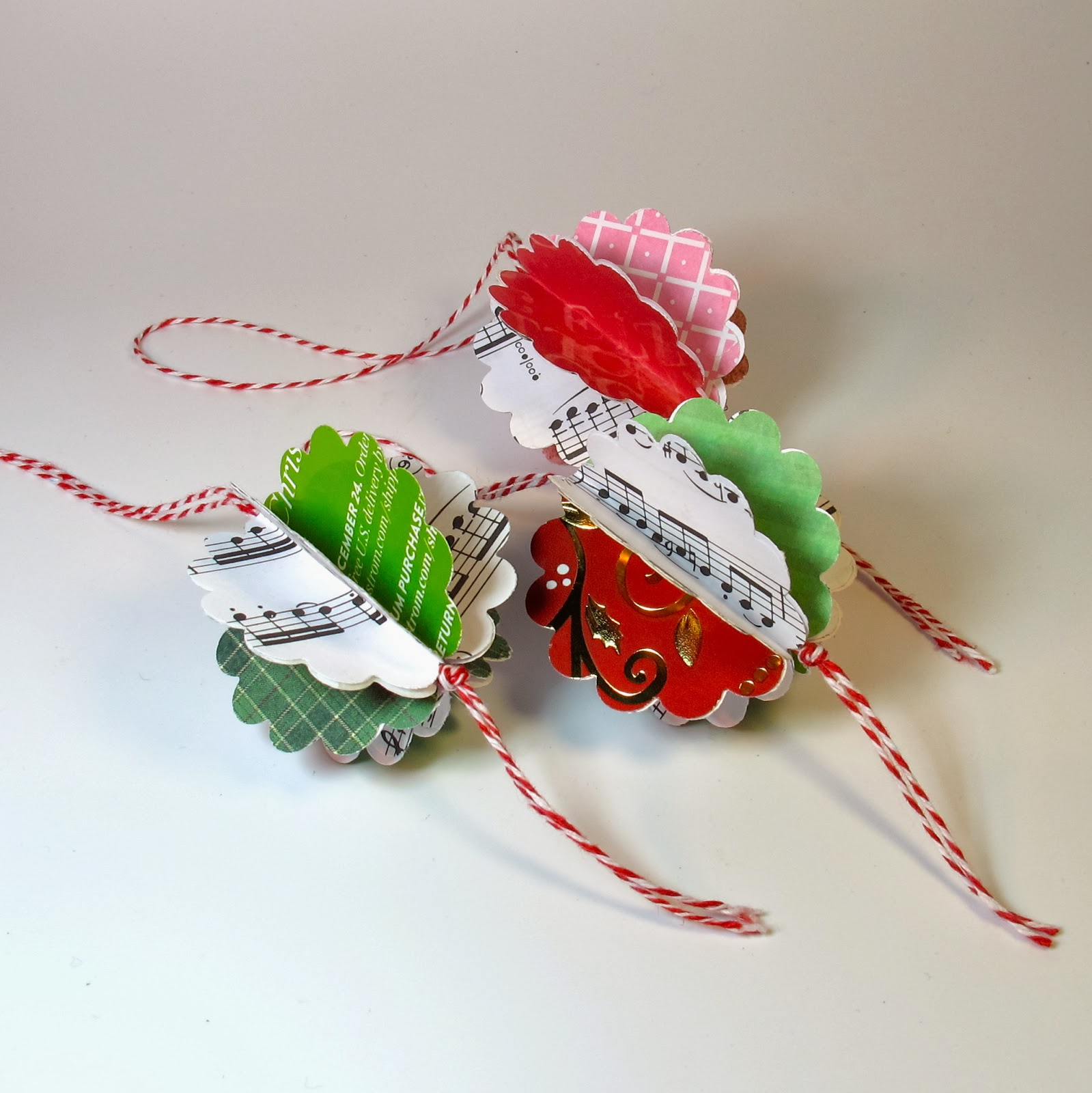 paper punch ornaments