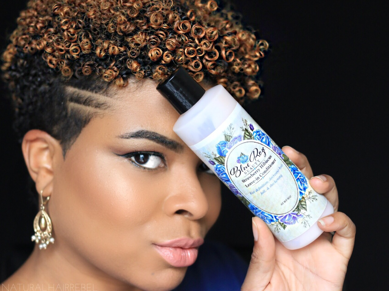 hair | blue roze beauty product review video| naturalhairrebel