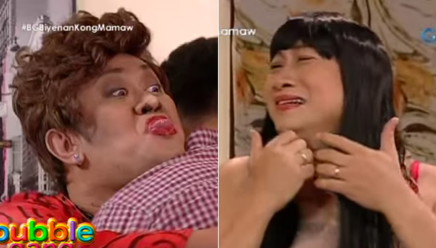 Mamaw, the mother of Junjun and the mother-in-law of Erlinda, played by Betong Sumaya Jr.