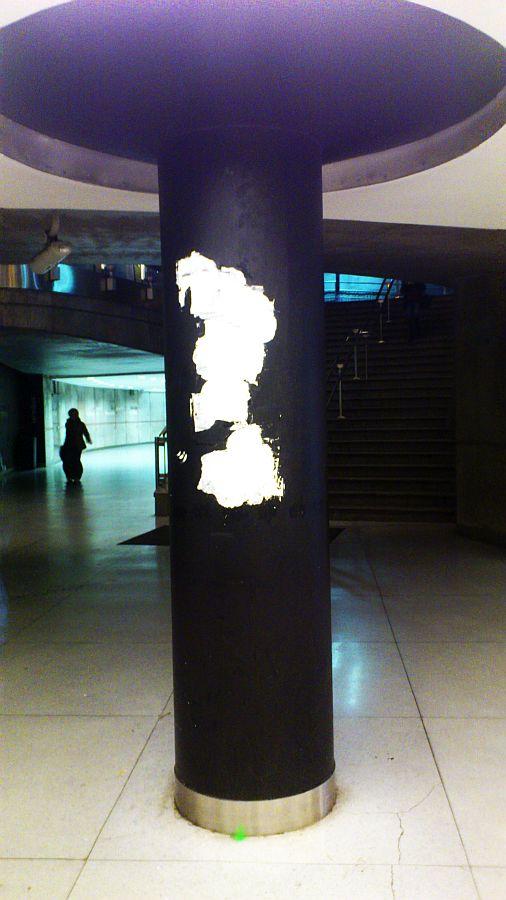 Guggenheim, pinturas destruidas, Planeta humano,