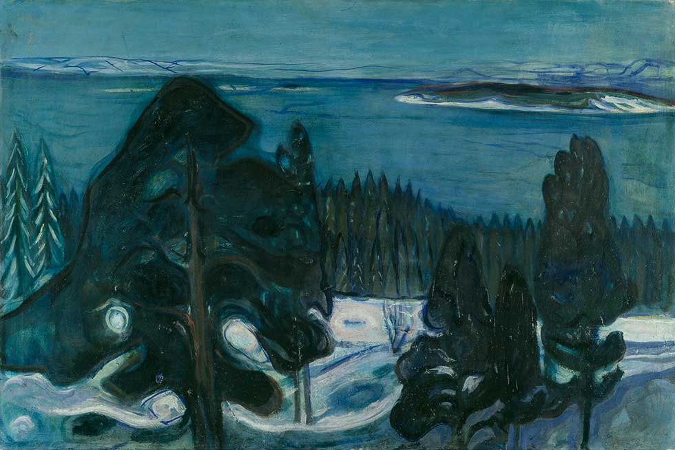 Winter Night (circa 1900-1901)