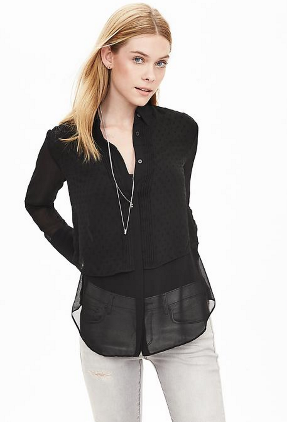My Superficial Endeavors: Tops from Banana Republic and Nordstrom