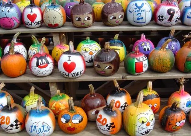 Calabazas murcilago para halloween cositasconmesh