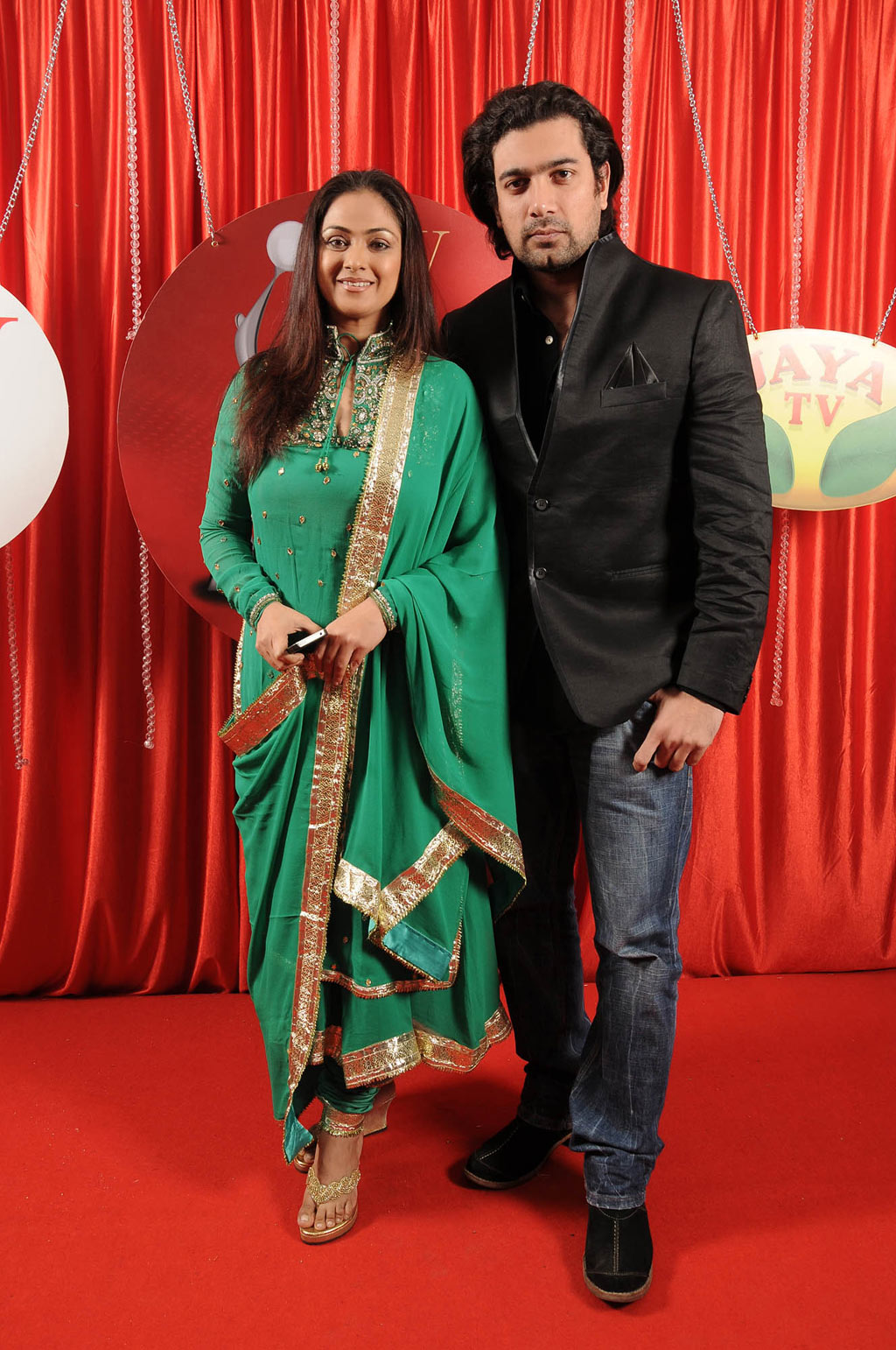 Simran and her husband