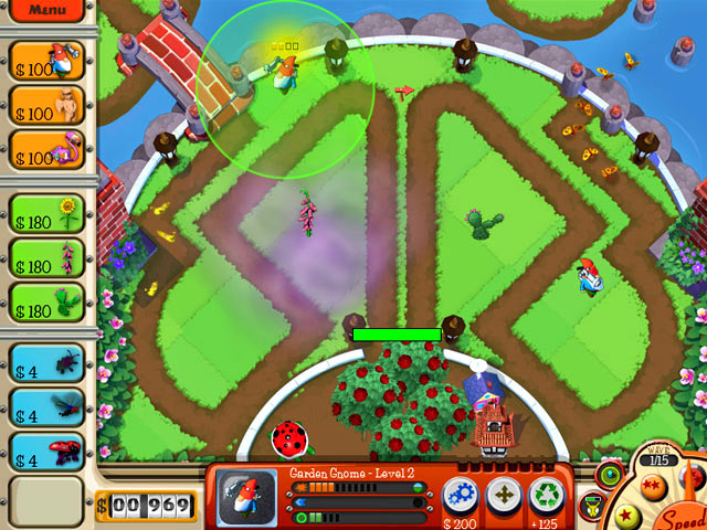 Garden Defense action game