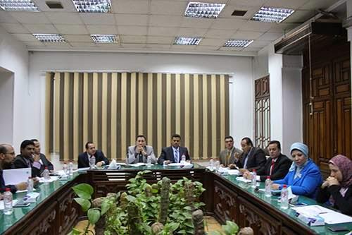 التشكيل النهائى لهيئة مكتب مجلس النقابة الجديد ورؤساء اللجان 2015