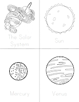 free printable solar system booklet - photo #10