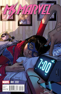 Ms. Marvel #1 - Pichelli Variant