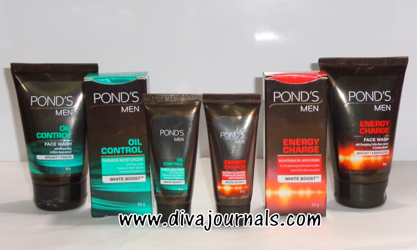 Ponds Men Oil Control & Energy Charge Face wash-Moisturiser Review