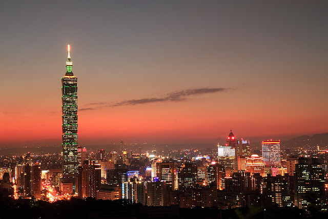 Picture of the Taipei 101 Tower