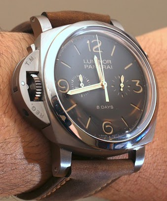 Panerai Luminor Left-Handed