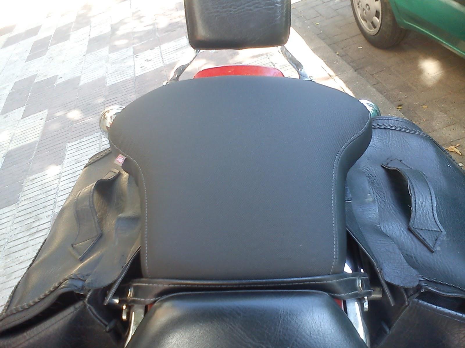 Consiguen ensanchar el asiento trasero de una yamaha drag for Tapizar asientos coche barcelona