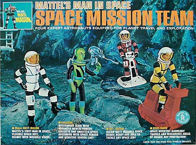 Mattel Major Matt Mason Space Mission Team Boxed Set
