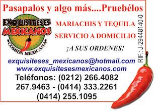 EXQUISITESES MEXICANOS en Paginas Amarillas tu guia Comercial