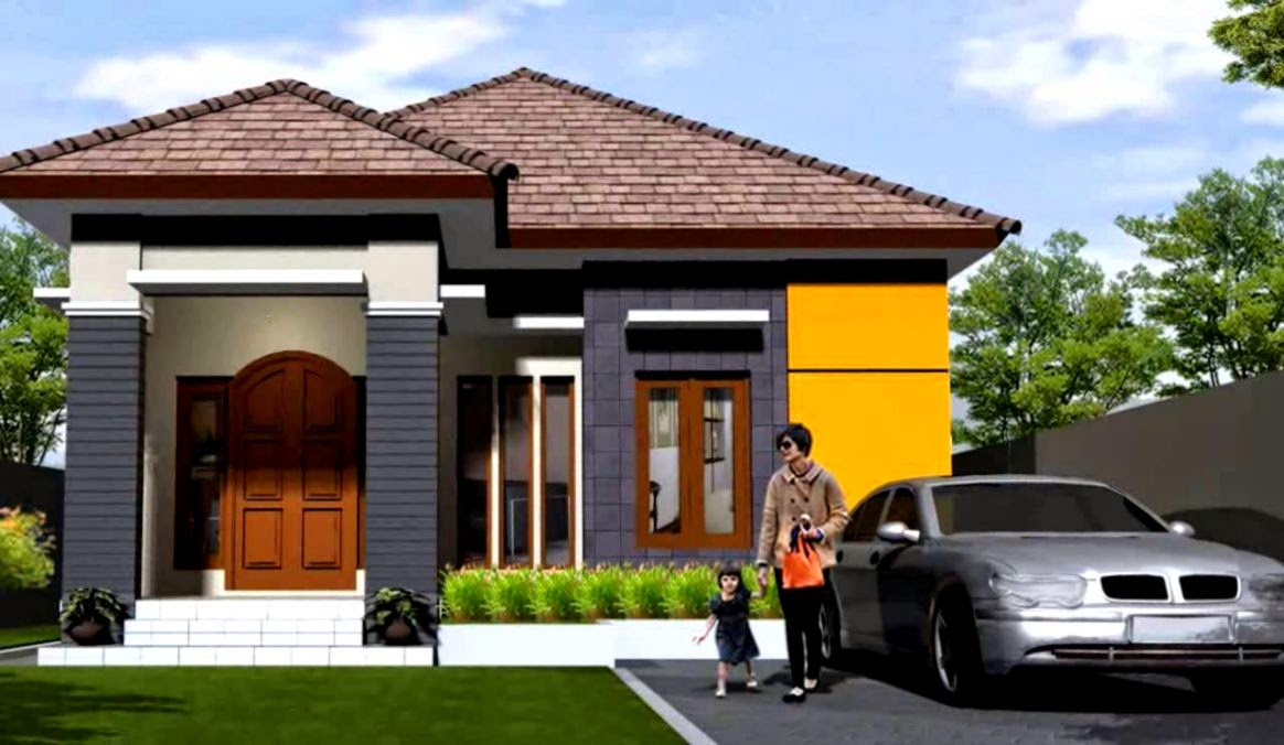 Kumpulan Model Gambar Desain Rumah Minimalis 1 dan 2 Lantai