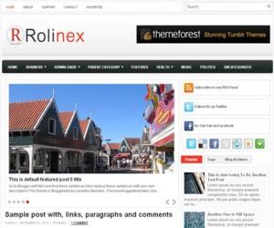 Rolinex Blogger Template