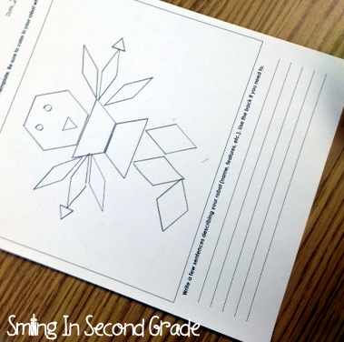 Smiling in Second Grade: Geometric Robots