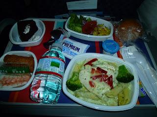 American Airlines Food
