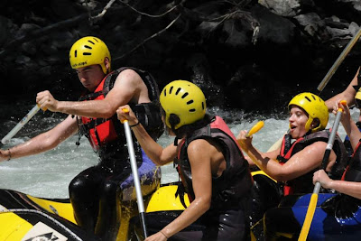 Rafting in Noguera Pallaresa river