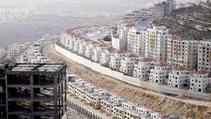 Israel aprueba construir 17 mil viviendas ilegales en Cisjordania