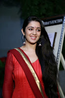 Actress Charmi Kaur Pictures in Red Salwar Kameez at Country Club Asia's Biggest New Year Bash 2014 Press Meet 0001.jpg