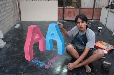 César Paredes - 3d chalk art