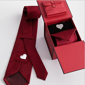 Hidden Message tie, valentine gifts for him