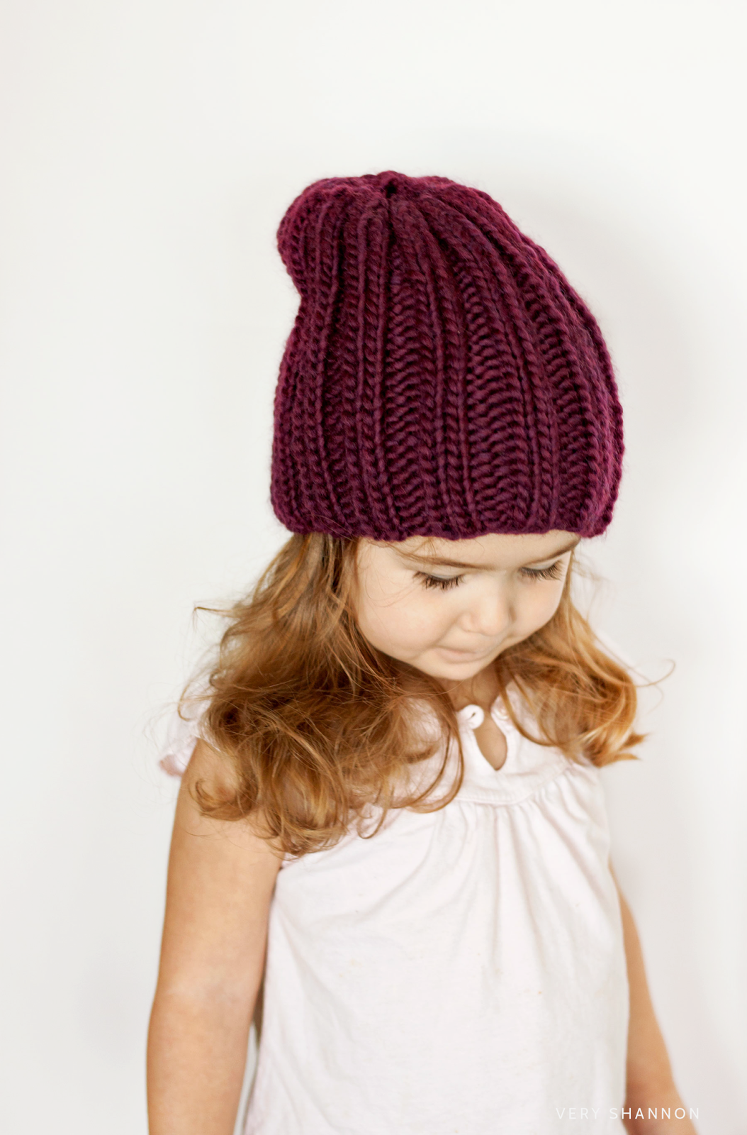 The Keaton Hat Pattern (Available in size Baby - Adult L) || www.veryshannon.com