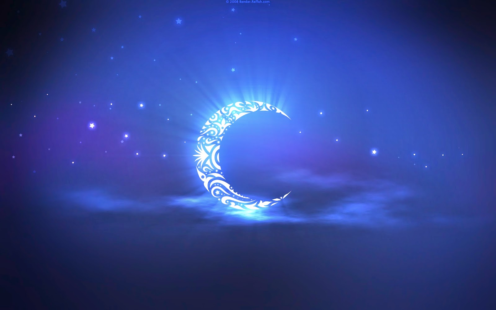 ramadan wallpapers for desktop background Blue