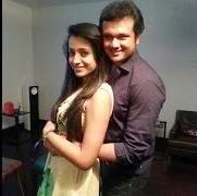 Actress Thrisha Engagement Pictures with Varun Mani
