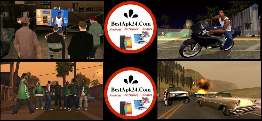 GTA: San Andreas final v1.08 Apk DATA