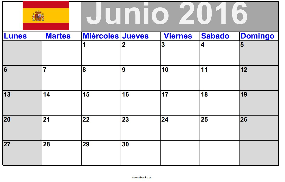 calendario de junio 2015 para imprimir calendars 2018 On calendario junio 2016 para imprimir