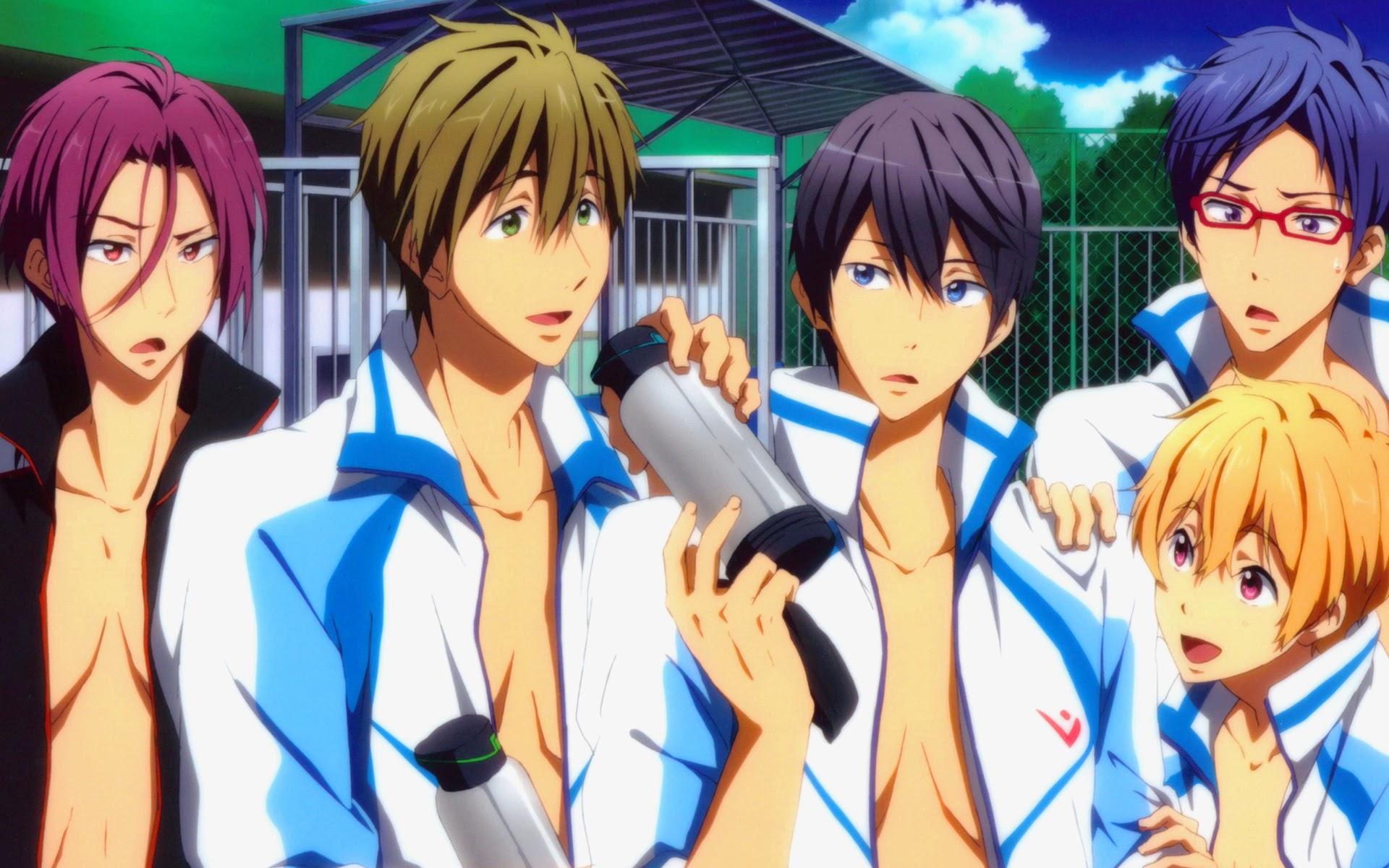 swim Free club iwatobi