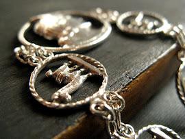 Inca Llama Bracelet