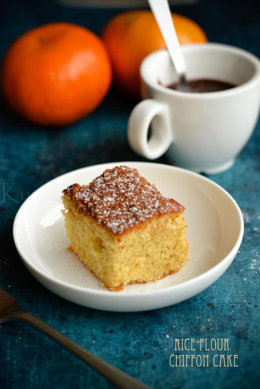 Gluten and Dairy -Free Chiffon Cake | Rice Flour Chiffon
