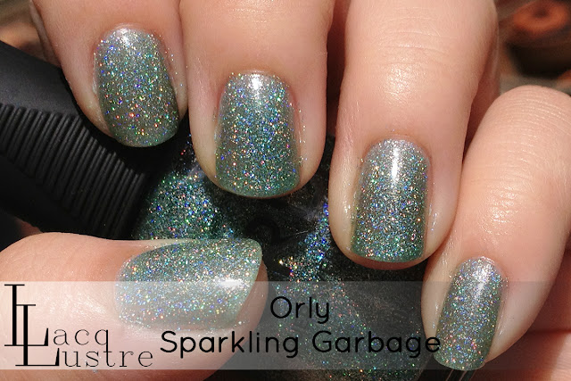 Orly Sparkling Garbage swatch