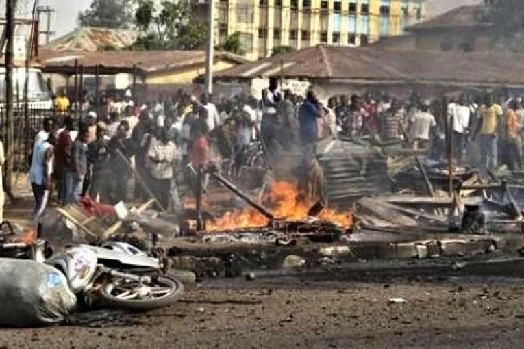 NOTICIA - Niña suicida estalla bomba y mata a 19 personas