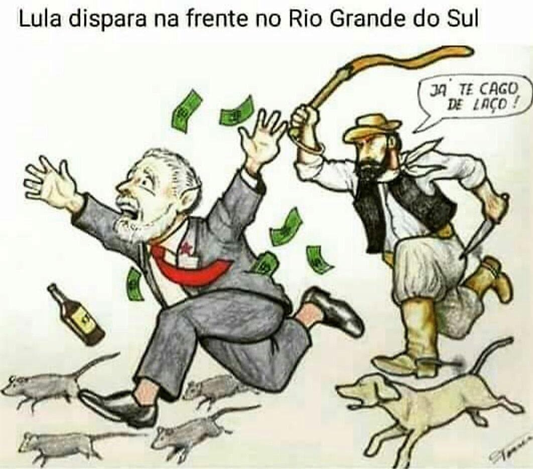 Lula dispara na frente