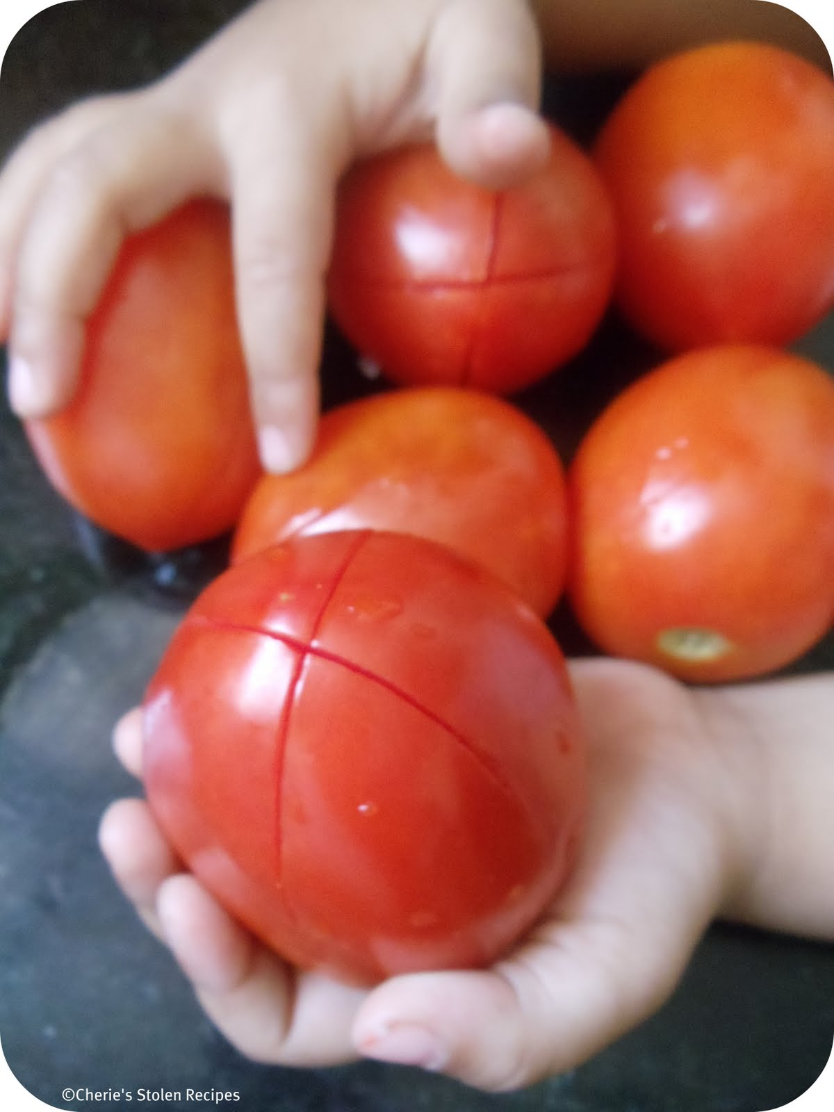 how to make tomato concasse
