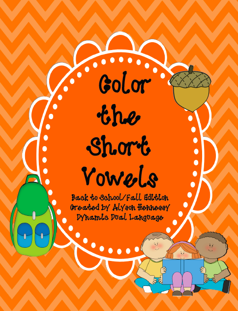 http://www.teacherspayteachers.com/Product/FREEBIE-Preview-of-COLOR-THE-SHORT-VOWEL-SOUNDS-821774