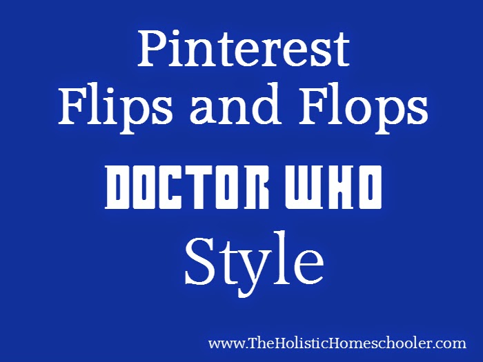See these tries at recreating Doctor Who recipes for a party. Some were flips and some where flops.