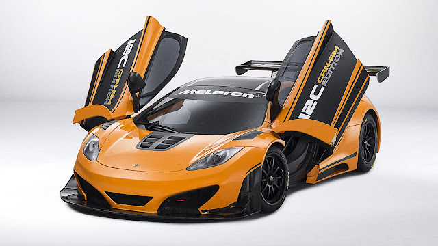 McLAREN 12C CAN-AM EDITION RACING CONCEPT front side open