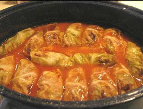 Голубцы с томатной пастой рецепт пошагово с