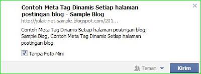 meta tag dinamis setiap halaman posting blogspot