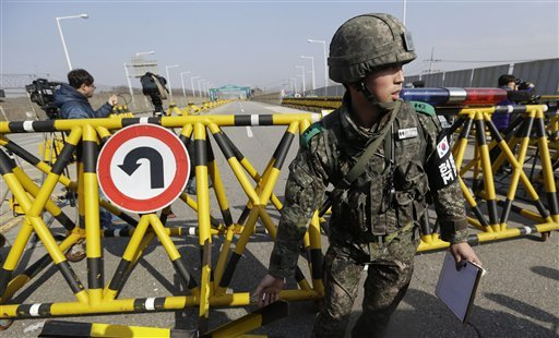 The Latest: S. Korea Shuts Down Tourist Points Near Border