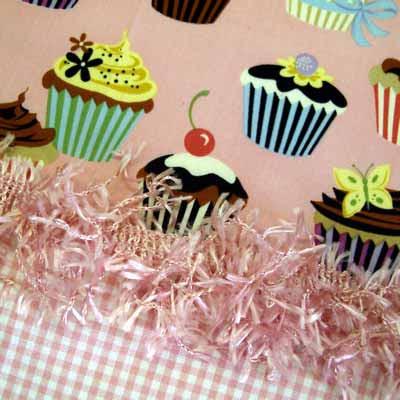 estampa de cupcake