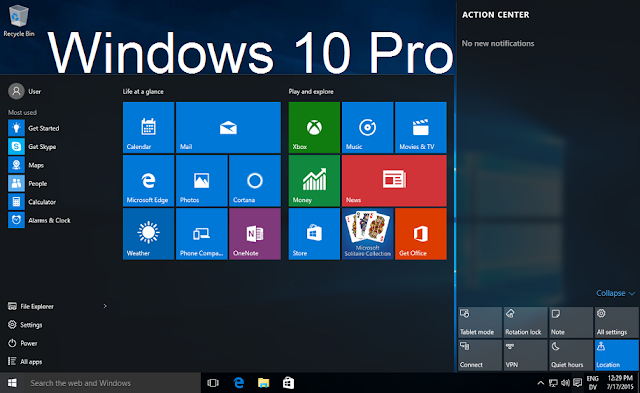 Download windows 10 pro 10586 iso for x64 x86 free via for Window 10 pro