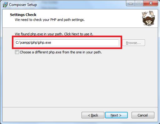 Cara Menginstal dan Menggunakan Composer di Windows